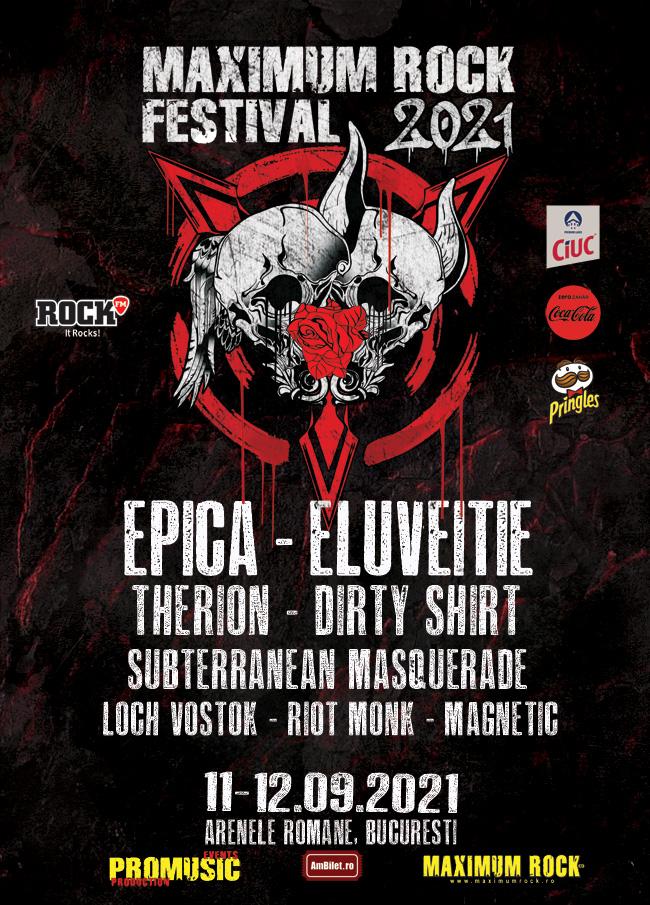 Afis Maximum Rock Festival 2021